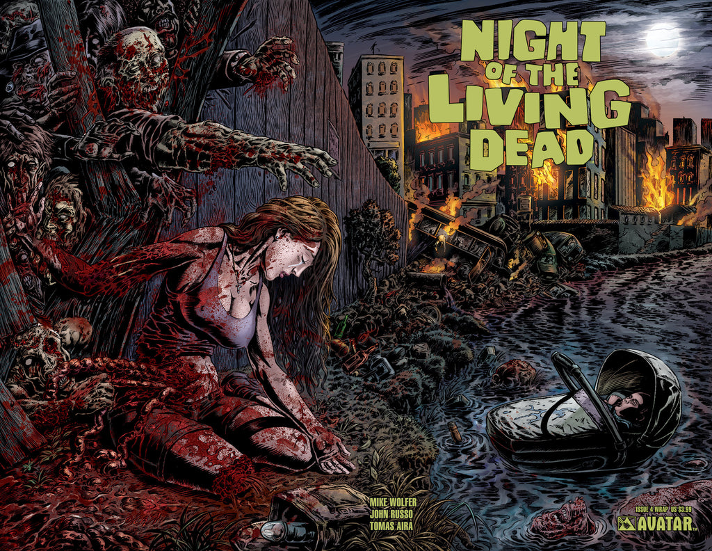 NIGHT OF THE LIVING DEAD #4 Wraparound