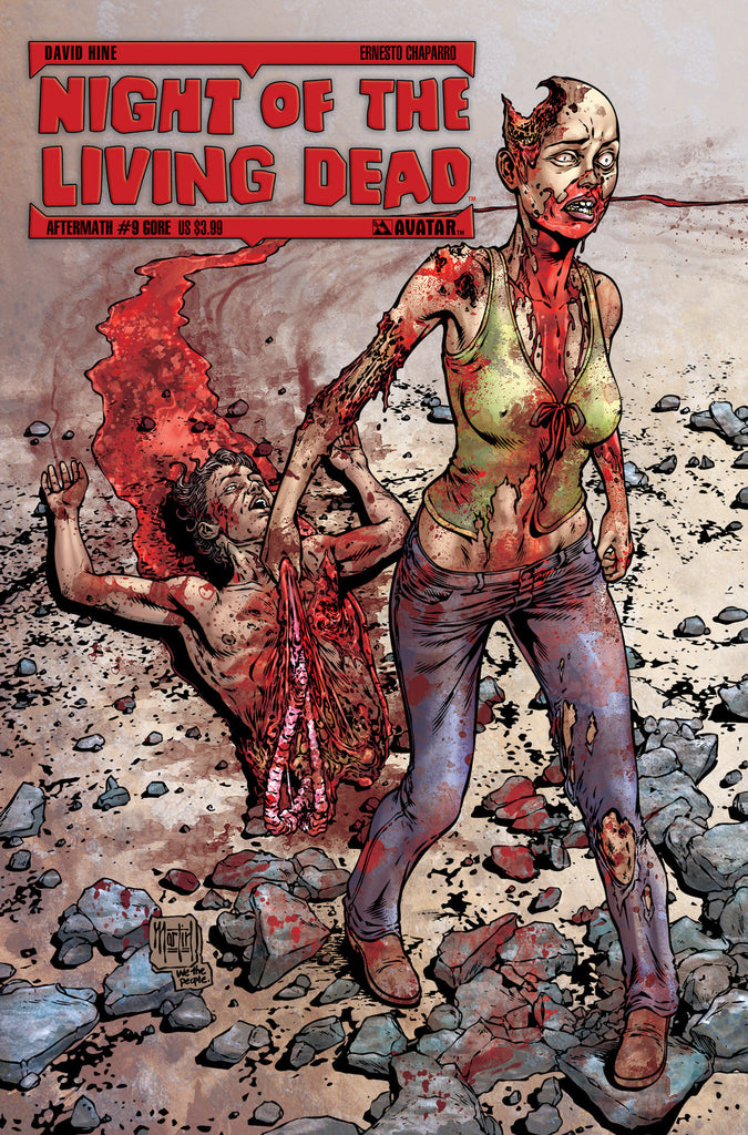 NIGHT OF THE LIVING DEAD: AFTERMATH #9 - Digital Copy