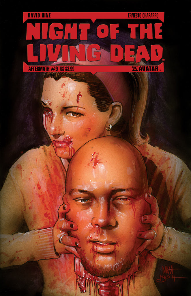 NIGHT OF THE LIVING DEAD: AFTERMATH #9 GORE COVER