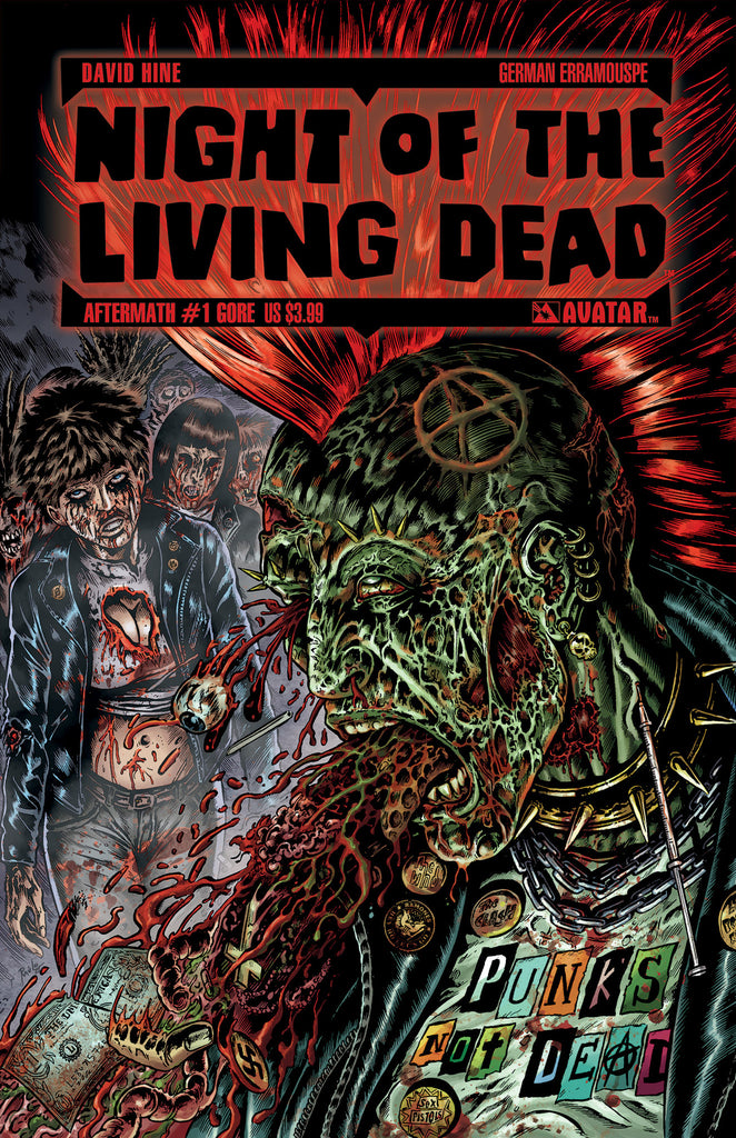 NIGHT OF THE LIVING DEAD: AFTERMATH #1 GORE CVR