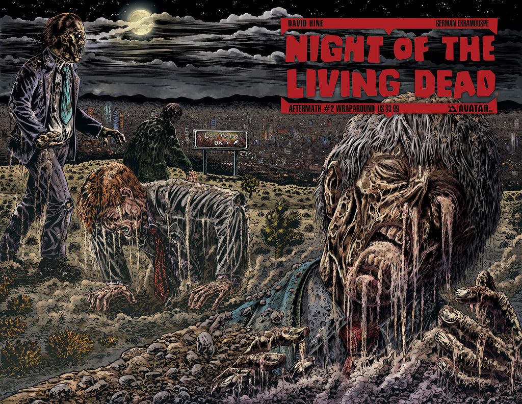 NIGHT OF THE LIVING DEAD: AFTERMATH #2 WRAPAROUND CVR