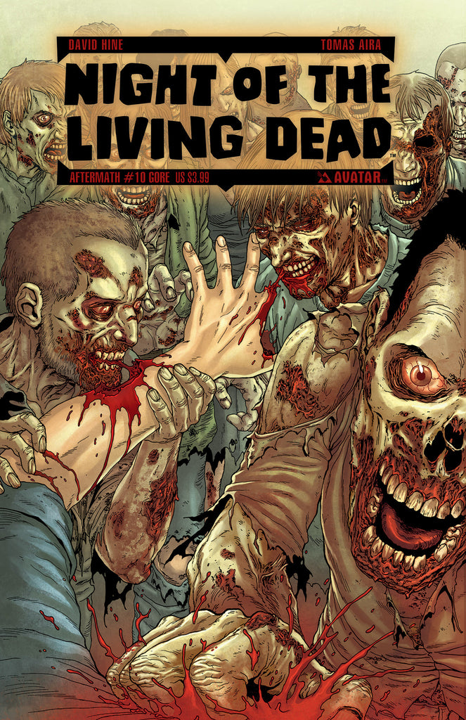 NIGHT OF THE LIVING DEAD: AFTERMATH #10 GORE COVER