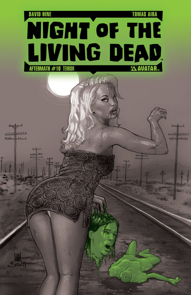 NIGHT OF THE LIVING DEAD: AFTERMATH #10 TERROR ORDER INCENTIVE COVER