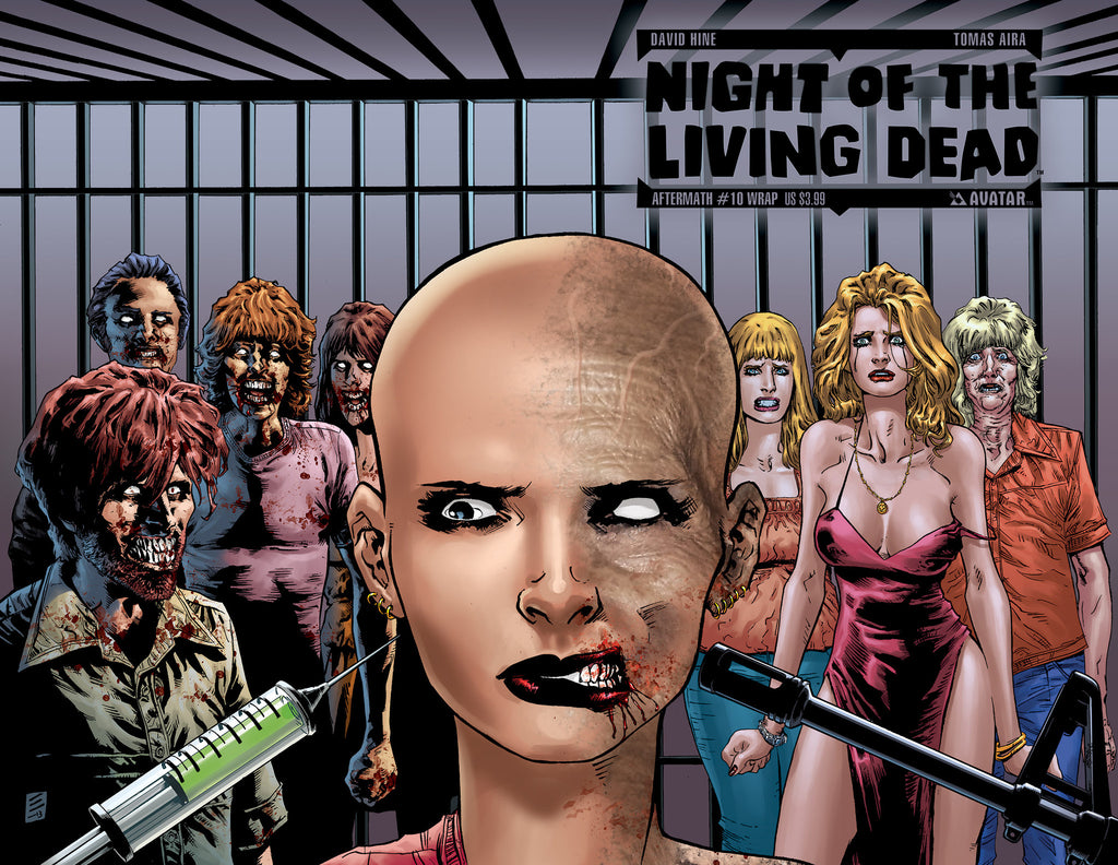 NIGHT OF THE LIVING DEAD: AFTERMATH #10 WRAPAROUND COVER