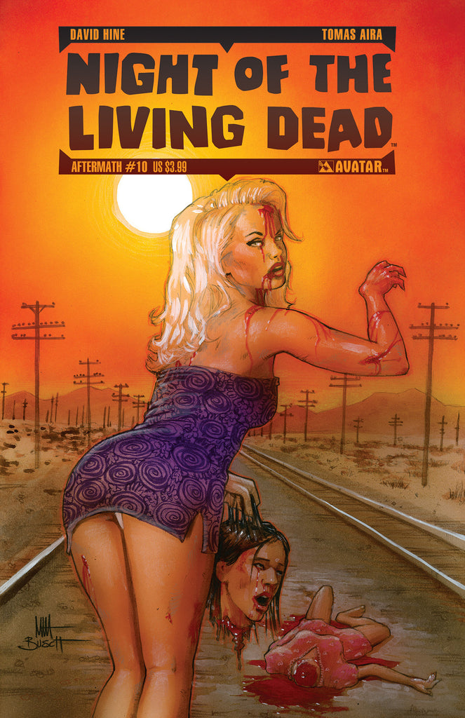 NIGHT OF THE LIVING DEAD: AFTERMATH #10 - Digital Copy