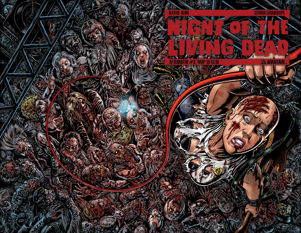 NIGHT OF THE LIVING DEAD: AFTERMATH #3 WRAPAROUND CVR