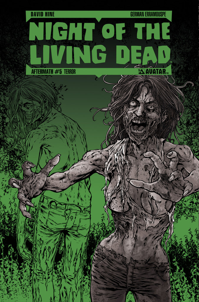 NIGHT OF THE LIVING DEAD: AFTERMATH #5 TERROR ORDER INCENTIVE CO