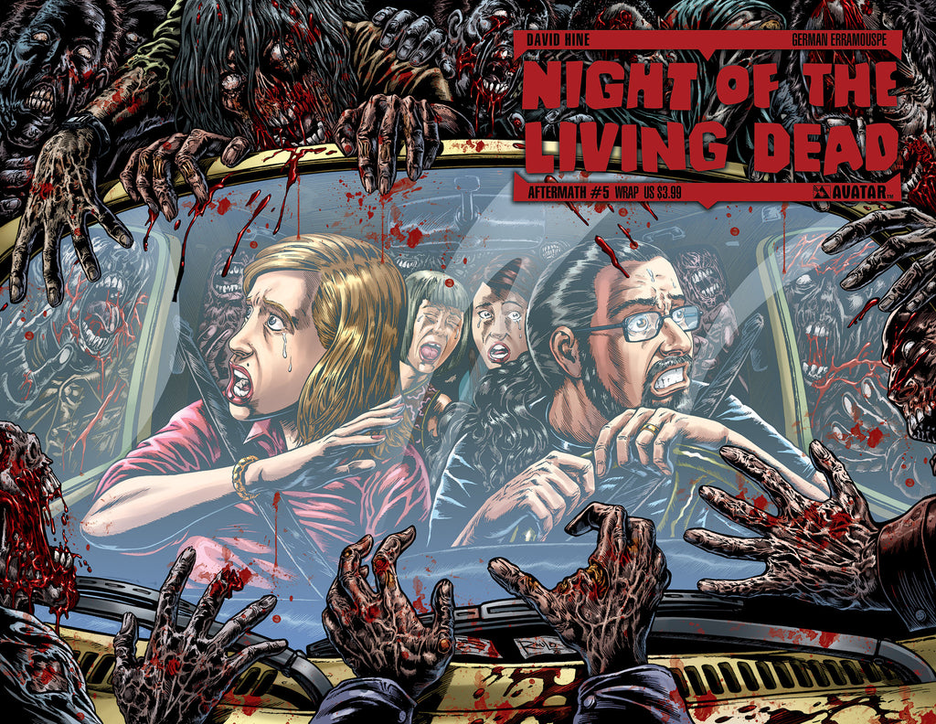 NIGHT OF THE LIVING DEAD: AFTERMATH #5 WRAPAROUND CVR