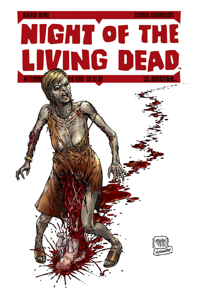 NIGHT OF THE LIVING DEAD: AFTERMATH #6 GORE CVR
