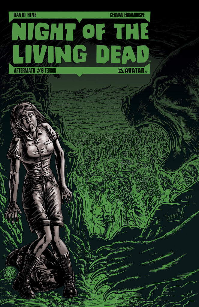 NIGHT OF THE LIVING DEAD: AFTERMATH #6 TERROR ORDER INCENTIVE CO