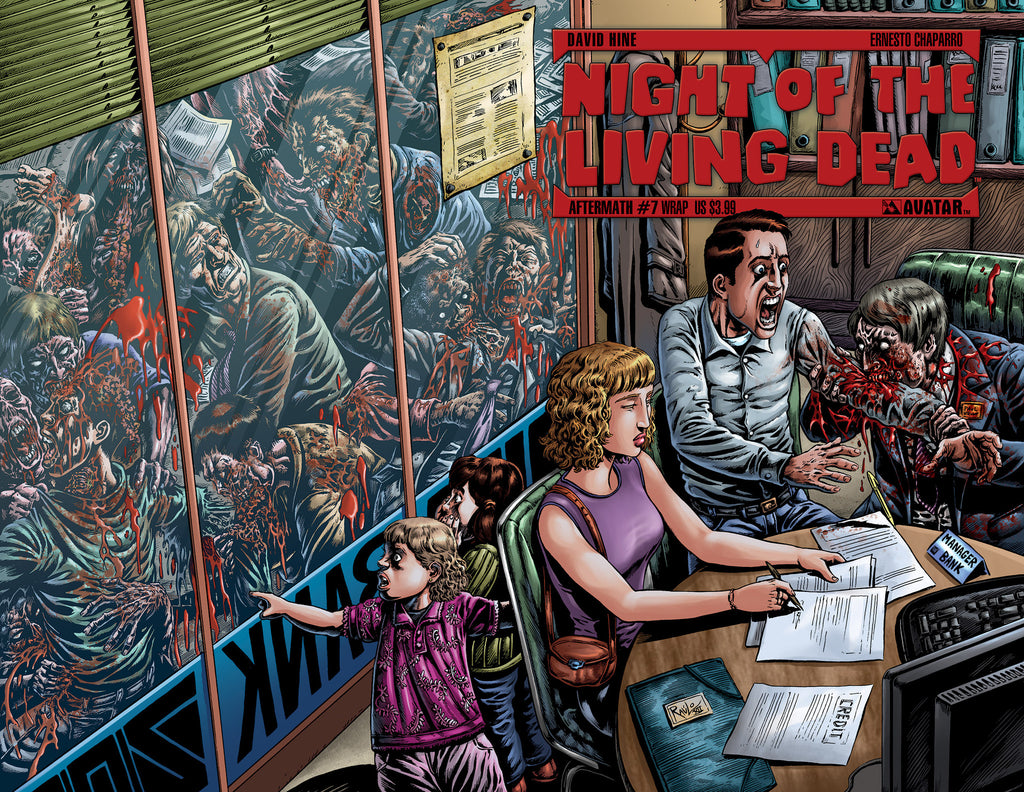 NIGHT OF THE LIVING DEAD: AFTERMATH #7 WRAPAROUND COVER