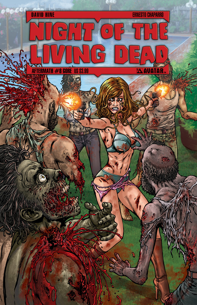 NIGHT OF THE LIVING DEAD: AFTERMATH #8 GORE COVER