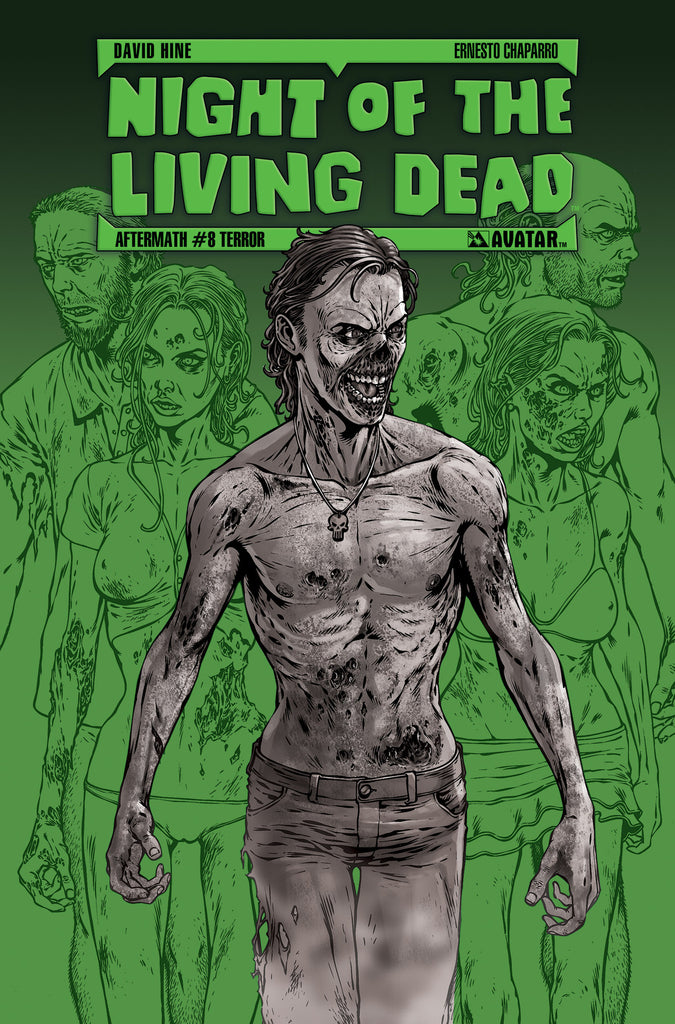 NIGHT OF THE LIVING DEAD: AFTERMATH #8 TERROR ORDER INCENTIVE CO