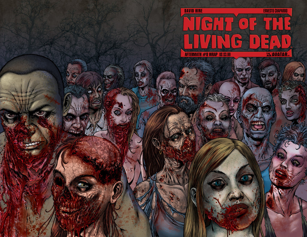 NIGHT OF THE LIVING DEAD: AFTERMATH #8 WRAPAROUND COVER
