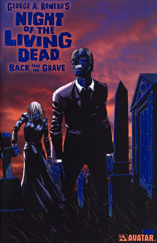 NIGHT OF THE LIVING DEAD: Back From the Grave Royal Blue Foil