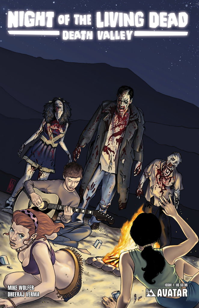 NIGHT OF THE LIVING DEAD: Death Valley #1 - Digital Copy