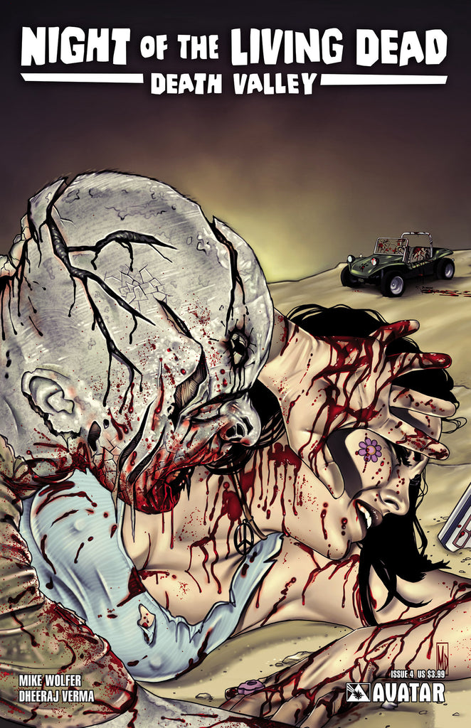 NIGHT OF THE LIVING DEAD: Death Valley #4 - Digital Copy