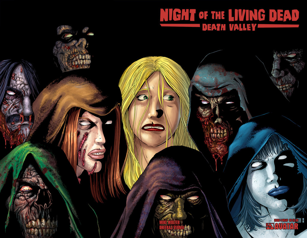 NIGHT OF THE LIVING DEAD: Death Valley #5 Wraparound
