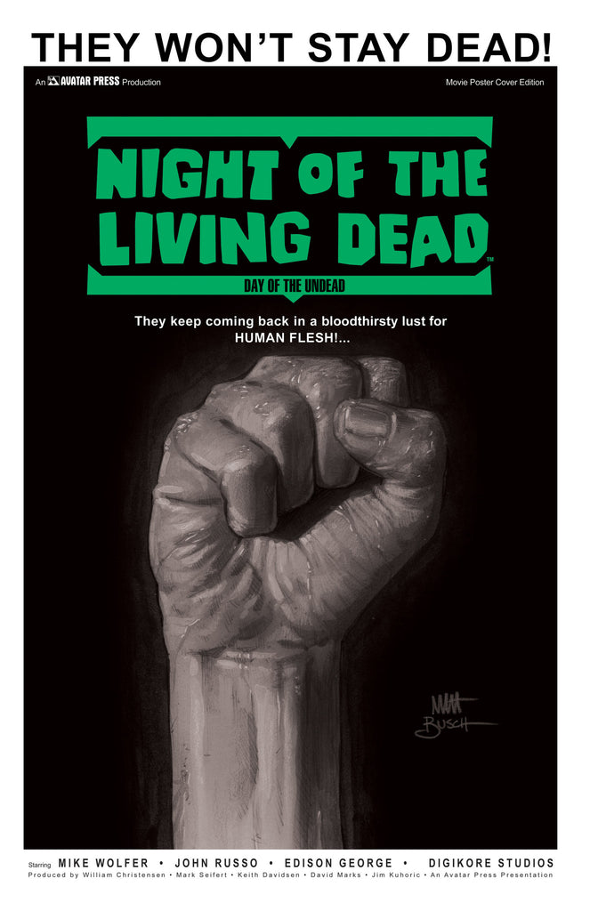 Night of the Living Dead: Day of the Undead GN Movie Poster