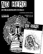NO HERO #1 Leather Sketch Edition