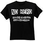 NO HERO T-Shirt - Size L