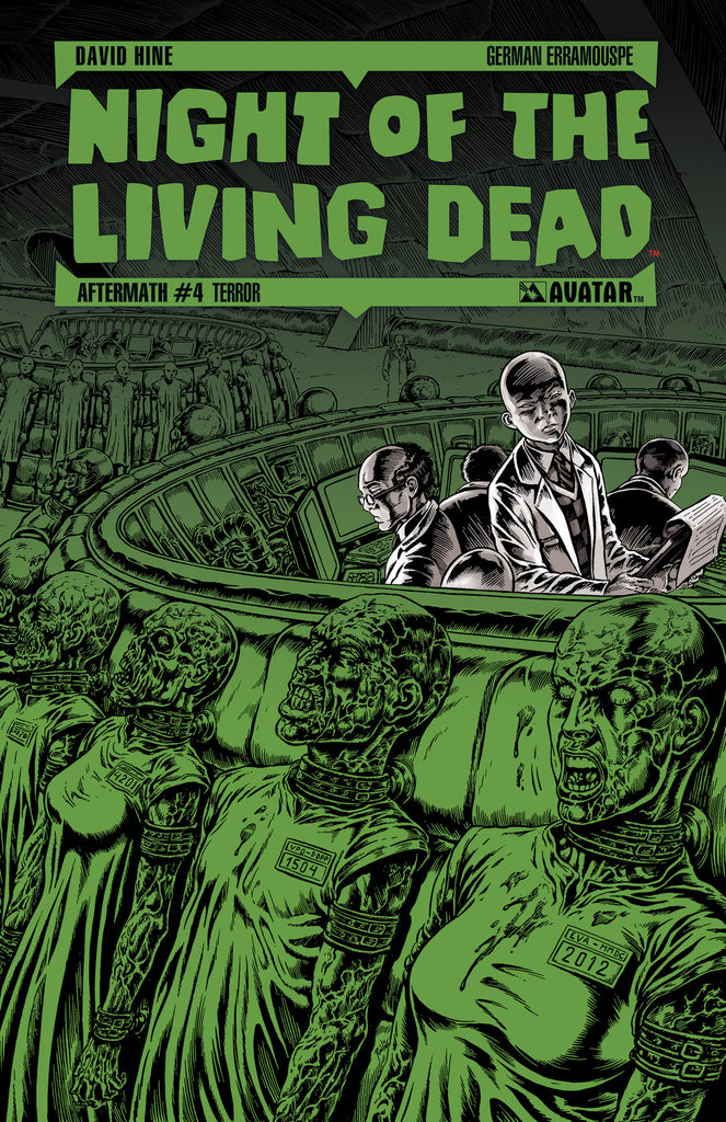 NIGHT OF THE LIVING DEAD: AFTERMATH #4 TERROR ORDER INCENTIVE CO