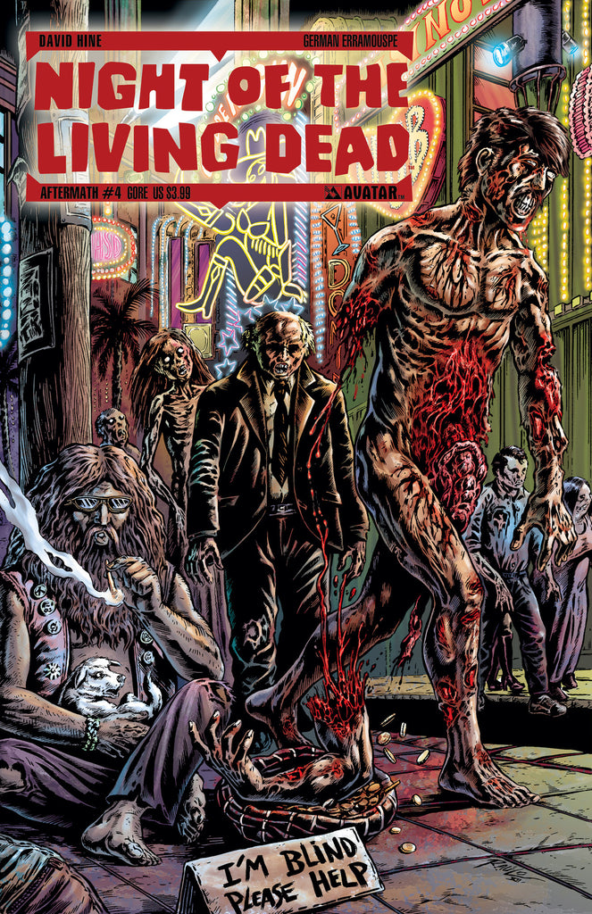 NIGHT OF THE LIVING DEAD: AFTERMATH #4 GORE CVR