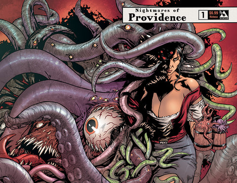 NIGHTMARES OF PROVIDENCE #1 Nctosa Wraparound