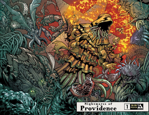 NIGHTMARES OF PROVIDENCE #1 Wraparound