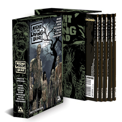 NIGHT OF THE LIVING DEAD COMPLETE TPB SLIPCASE EDITION