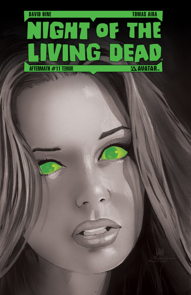 NIGHT OF THE LIVING DEAD: AFTERMATH #11 TERROR ORDER INCENTIVE COVER