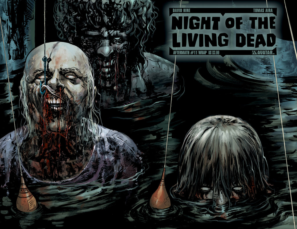NIGHT OF THE LIVING DEAD: AFTERMATH #11 WRAPAROUND COVER
