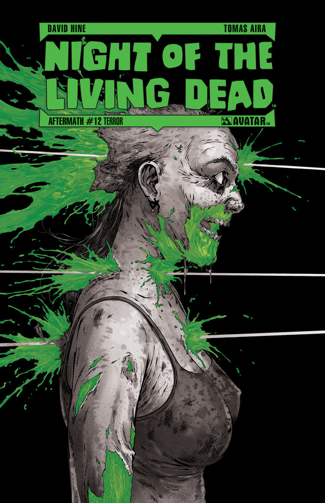 NIGHT OF THE LIVING DEAD: AFTERMATH #12 TERROR ORDER INCENTIVE COVER