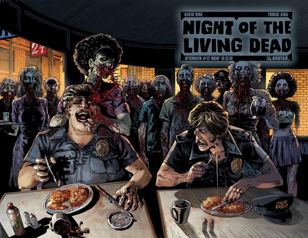NIGHT OF THE LIVING DEAD: AFTERMATH #12 WRAPAROUND COVER