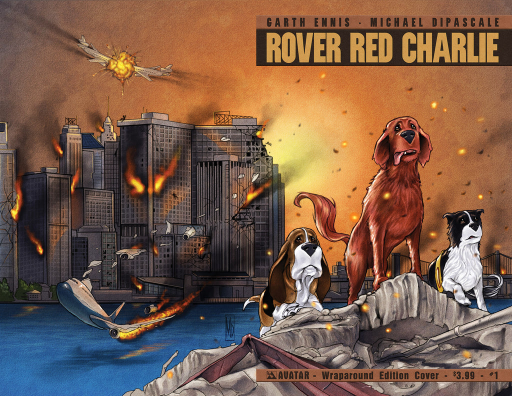 ROVER RED CHARLIE #1 Wraparound