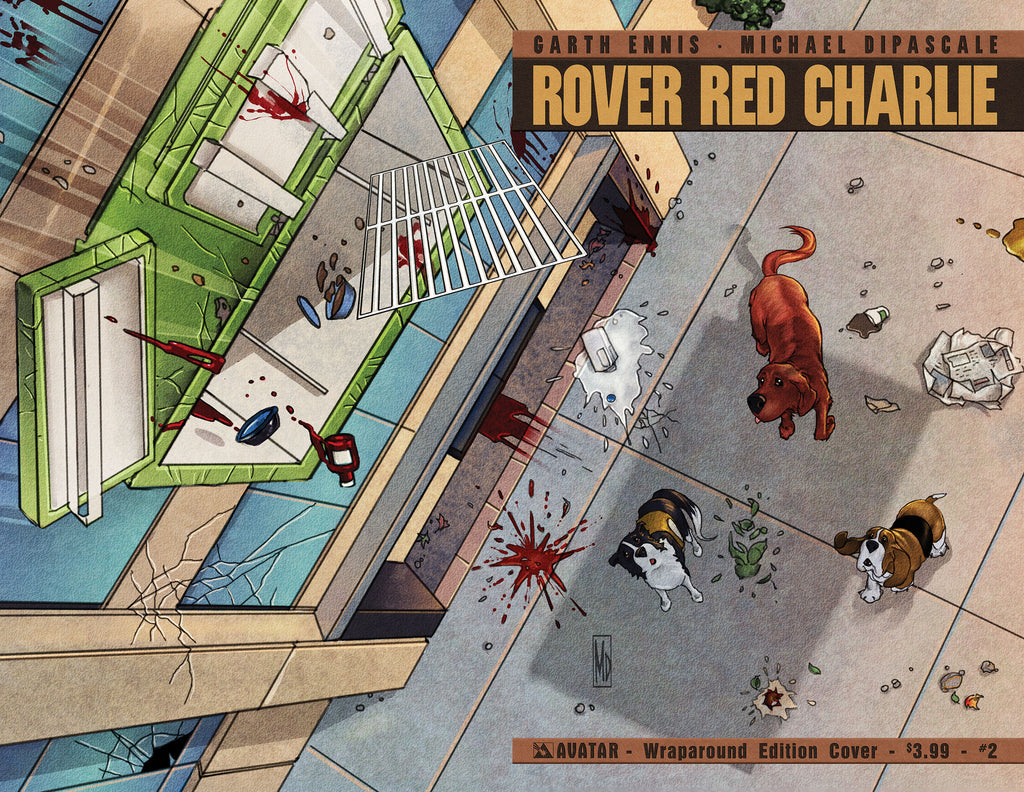 ROVER RED CHARLIE #2 WRAPAROUND COVER