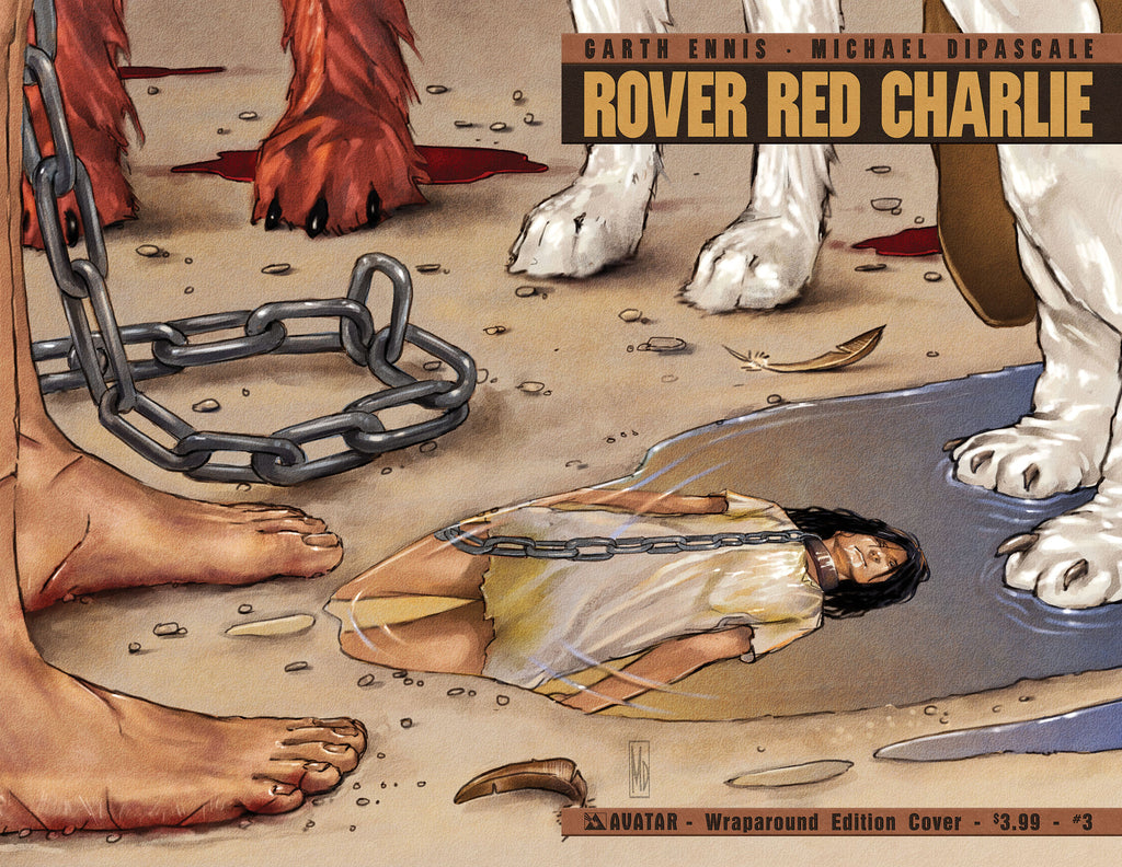ROVER RED CHARLIE #3 WRAPAROUND COVER