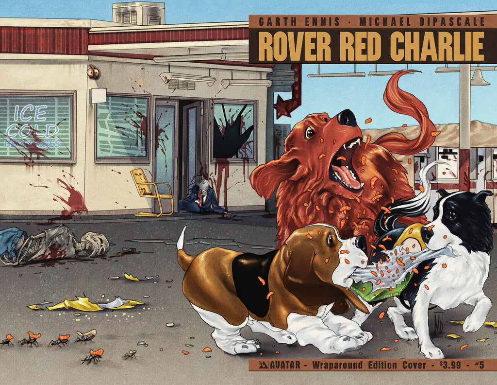 ROVER RED CHARLIE #5 Wraparound