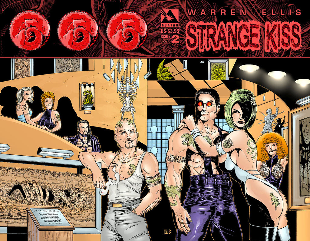 Warren Ellis' Strange Kiss 2 Wraparound
