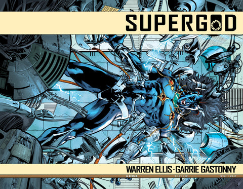 SUPERGOD #1 Wraparound