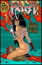 Faust: Singha's Talons #1/2 Ruby Red Edition
