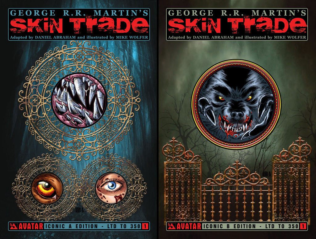 GEORGE RR MARTIN SKIN TRADE #1 Iconic Set (of 2)