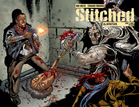 STITCHED #11 WRAPAROUND