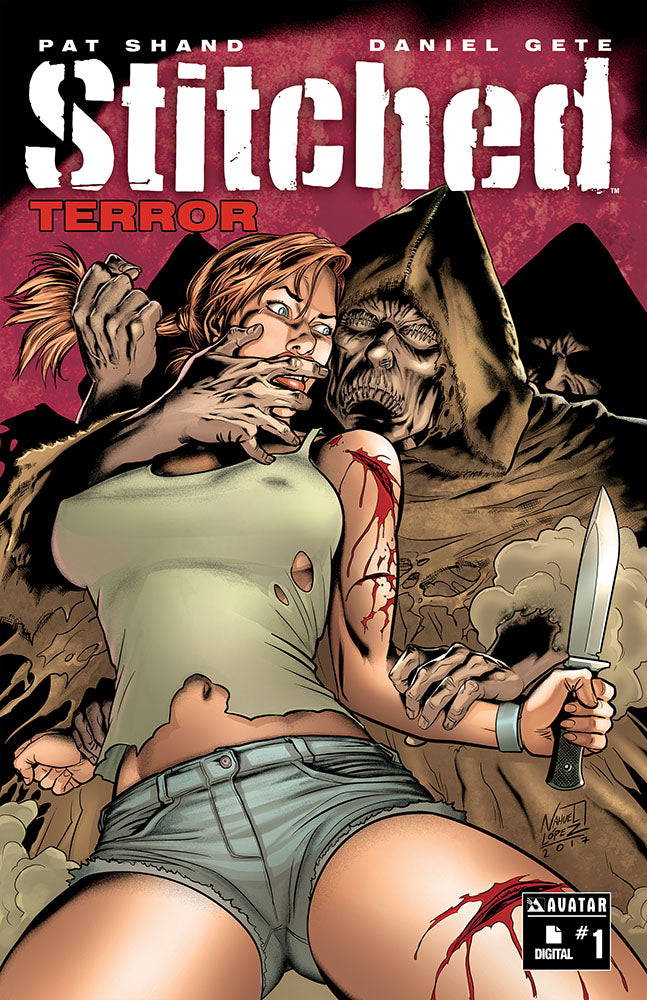 STITCHED: TERROR #1 - Digital copy