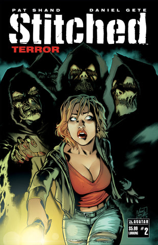 STITCHED: TERROR #2 - Deluxe Set (of 8)
