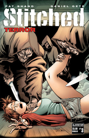 STITCHED: TERROR #3 - Deluxe Set (of 8)