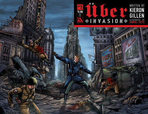 UBER: INVASION #1 Wraparound