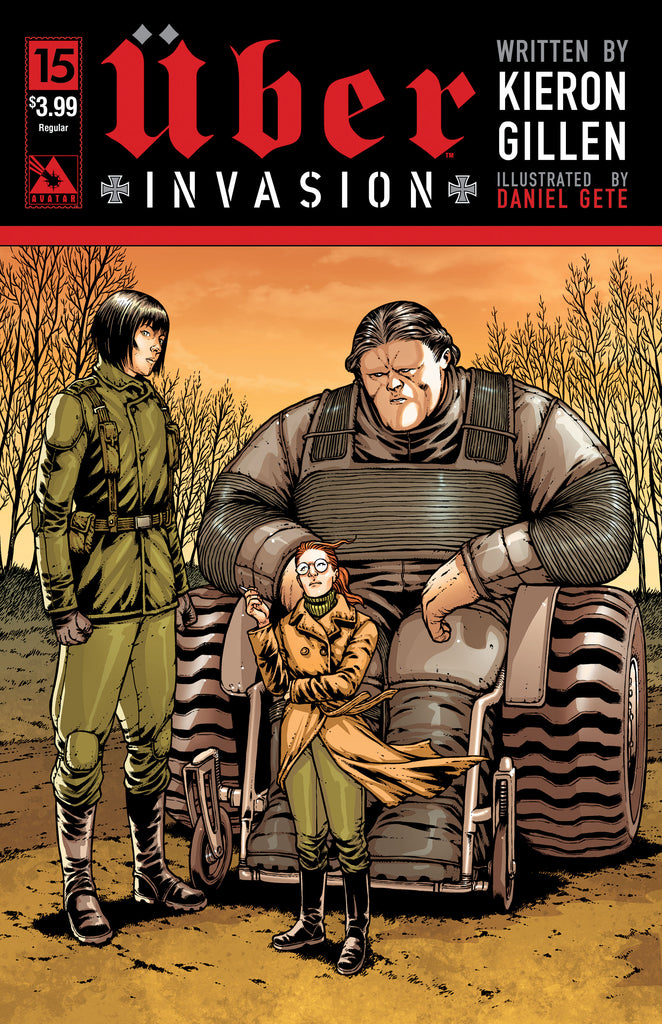UBER: INVASION #15 - Digital Copy
