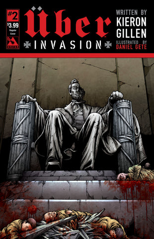 UBER: INVASION #2 - Digital Copy