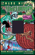Mark Millar's THE UNFUNNIES #2 Offensive cover
